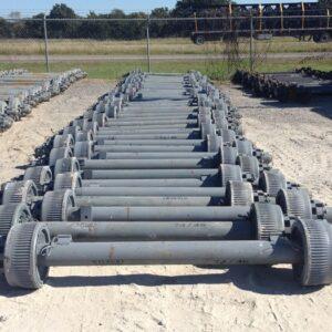 12k Electric Drum Brake Trailer Axle - 12000 lb Capacity Kit