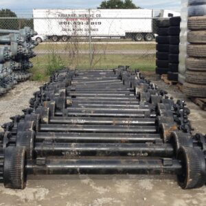 15k Electric Drum Brake Trailer Axle - 15000 lb Capacity Kit