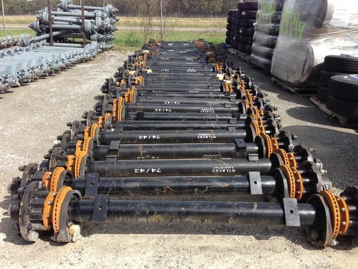12k Hydraulic Disc Brake Trailer Axle - 12000 lb Capacity Kit