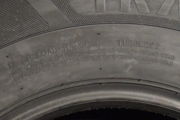 "16"" inch 12 ply Radial Trailer Tire - ST 235/85 R16 - Load Range F"