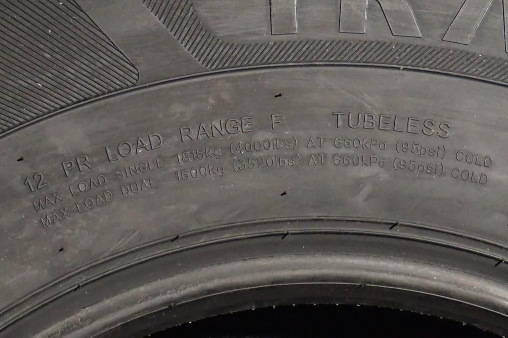 16 Inch 12 Ply Radial Trailer Tire St 235 85 R16 Load Range F Tk