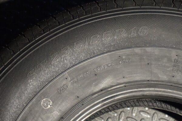 "16"" inch 12 ply Radial Trailer Tire - ST 235/85 R16 -Range F"