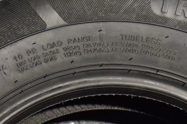 "15"" inch 10 ply Radial Trailer Tire - ST 225/75R15 - Load Range E"