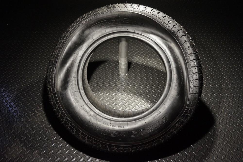 14 Inch Tires >> 14 Inch 6 Ply Bias Trailer Tire St 205 75 D14 Load Range C Tk