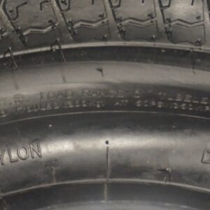 "14"" inch 6 ply Bias Trailer Tire - ST 205/75 D14 - Load Range C"