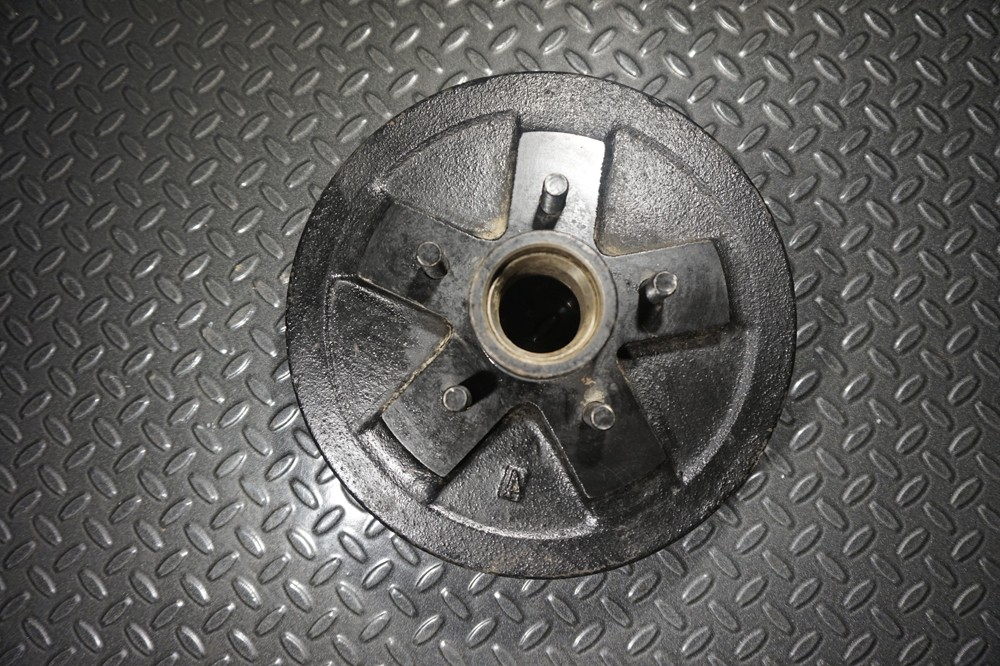 3.5k Trailer Axle Hub and Drum - 3500 lb Capacity