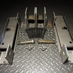 8k Trailer Tandem Heavy Duty Slipper Spring Hanger Kit - 8000 lb Capacity - 7000 lb Compatible