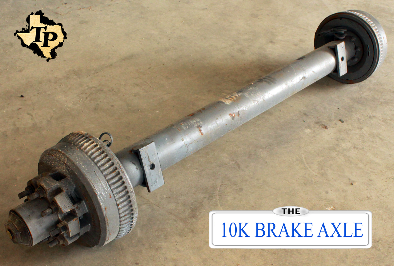 Dexter 10k Trailer Axle Electric Brake 8 Lug Tk Parts Dual Ke Wiring Diagram 10000 Lb