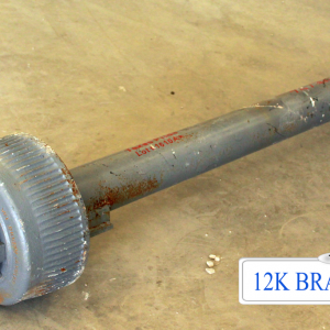 12k Dexter Trailer Axle - 12000 lb Electric Brake 8 lug