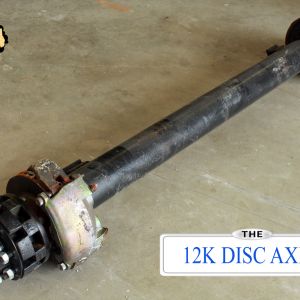 12k Dexter Trailer Axle - 12000 lb Hydraulic Disc Brake 8 lug
