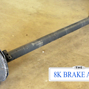 8k TK Trailer Axle - 8000 lb Electric Brake 8 lug
