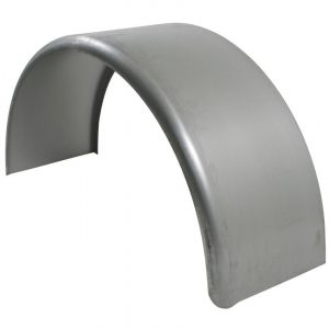 9x32 Smooth Steel Rolled Fender