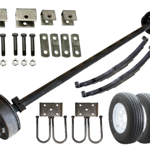 3.5k Heavy Duty Single Axle TK Trailer kit - 3500 lb Capacity