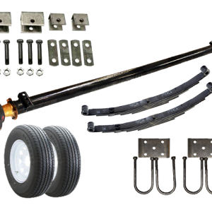 5.2k Light Duty Single Axle TK Trailer kit - 5200 lb Capacity