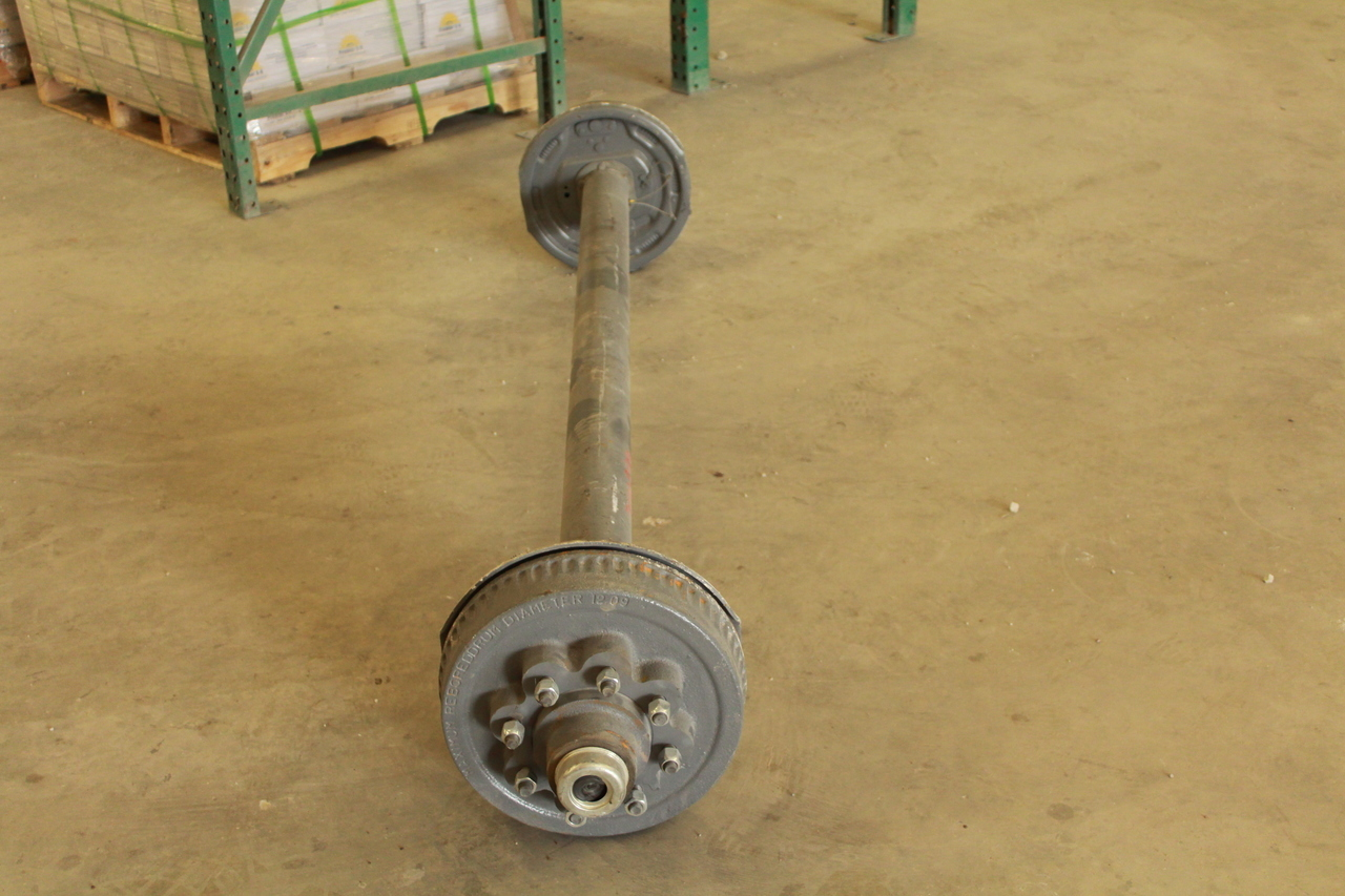 8k electric drum brake trailer axle 8000 lb capacity best 8k tk trailer axle 8000 lb electric brake 8 lug publicscrutiny Images
