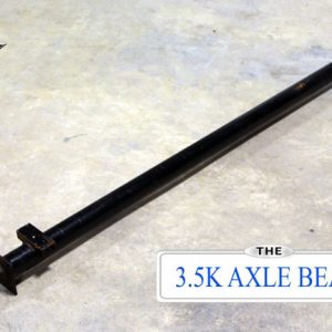 3.5k Dexter Trailer Axle - 3500 lb Beam Only