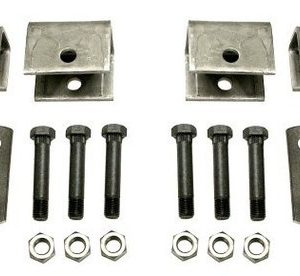 Trailer Double Eye Suspension /Single Axle Hanger Kit for 3500 lb axles